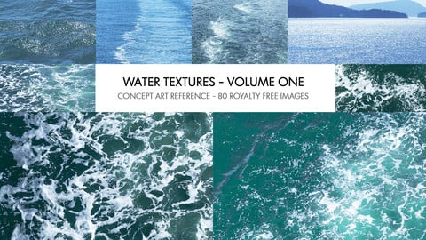 WATER TEXTURES - VOLUME 01 - PHOTO REFERENCE