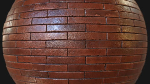 Clay bricks - Substance Designer