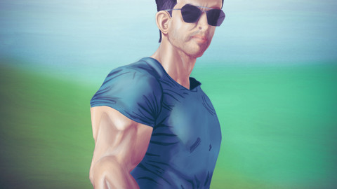 Hrithik Roshan || Hrithik Roshan's WAR look  || Digital Drawing No. 50 ||