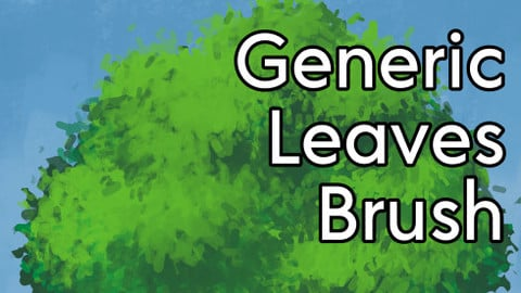 Generic Leaves Brush for Clip Studio Paint