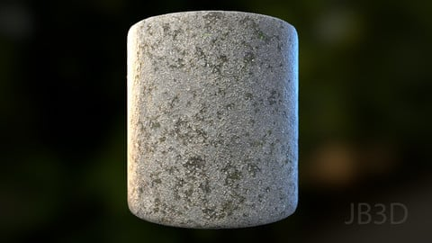 Forest Asphalt Ground | Photogrammetry PBR Textures