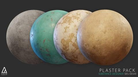 Substance Designer   Plaster Pack