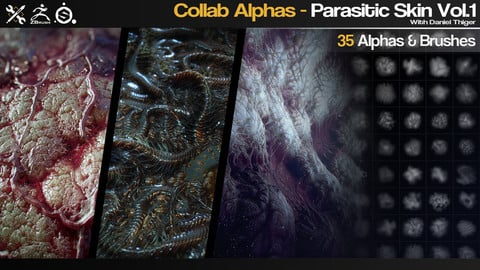 Collab Alphas - Parasitic Skin Vol.1