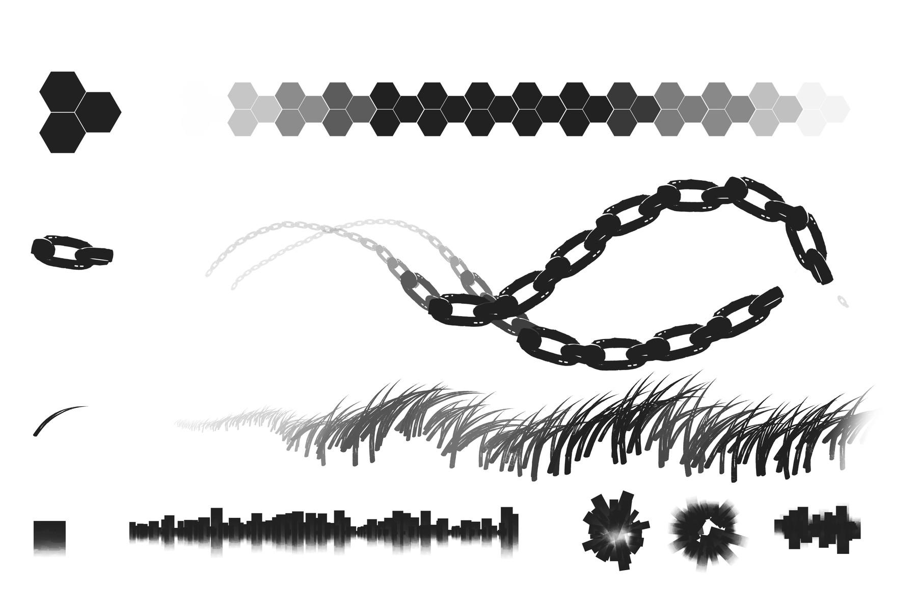 Rashed AlAkroka - Pattern Brushes