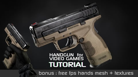 Handgun for Video games Tutorial | Complete edition