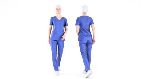Scanned female surgical nurse 07