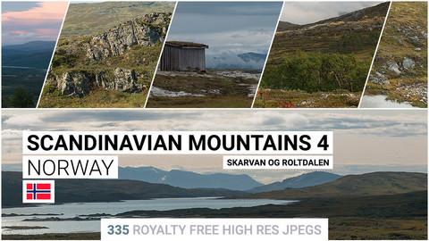 Scandinavian Mountains 4   Matte Painting / reference / photobash pack