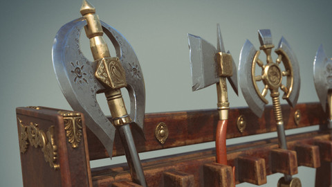 Axes - Substance Painter