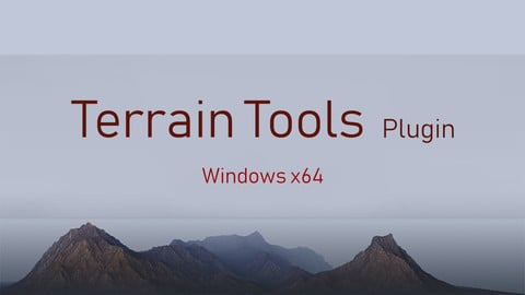 Terrain Tools - ZBrush Plugin (Win x64)