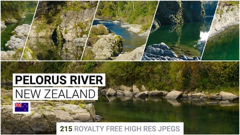 Pelorus River   Matte Painting / reference / photobash pack
