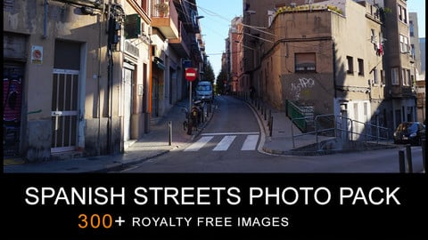 SPANISH STREETS PHOTO PACK