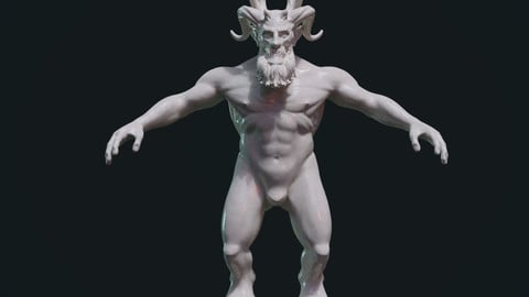 Demon figure