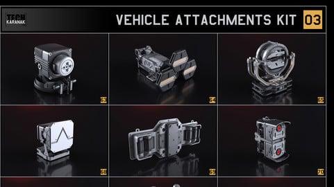 Vehicle attachments kit - 3