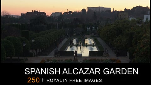 REF PACK SPANISH ALCAZAR GARDEN