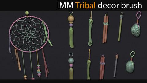 Zbrush - IMM Tribal decor brush