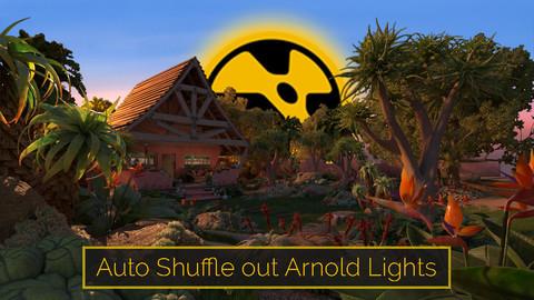 Auto-Shuffle Light AOVs