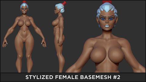 BASEMESH - Stylized Female #2