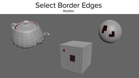 Select Border Edges Modifier