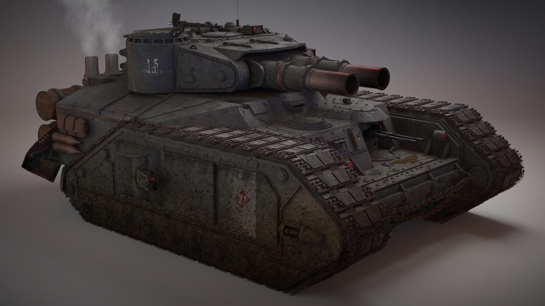 Kurtis 💎 Knight - Vostroyan Macharius (Warhammer 40K)
