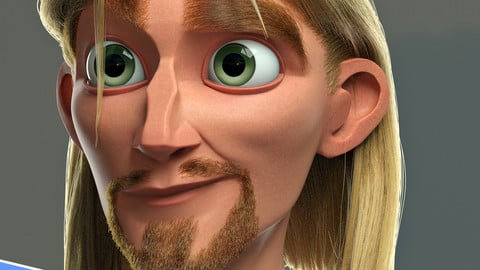 """Miguel from """"The Road to el Dorado"""" 3D Bust Full Lenght Process Video"""