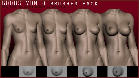 BOOBS VDM 4 brushes pack