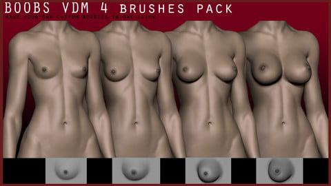 BOOBS VDM 4 brushes pack