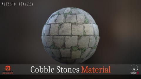 Cobble Stones Material