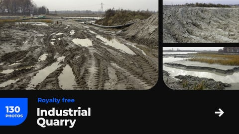 Industrial Quarry Mud