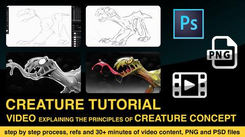 creature concept tutorial