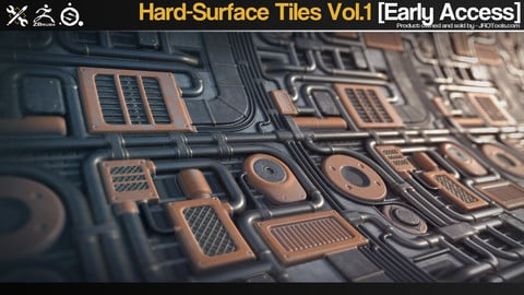Hard-Surface Tiles Vol.1 [Early Access]