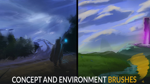 CONCEPT AND ENVIRONMENT BRUSHES