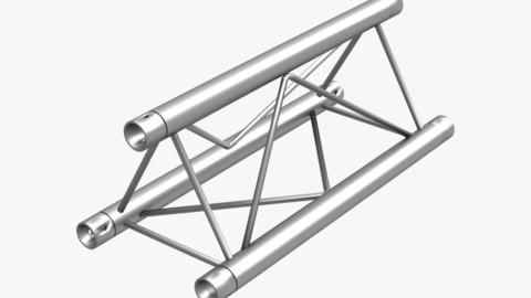 Mini Triangular Truss Straight Segment 111