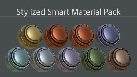 Stylized Smart Material Pack