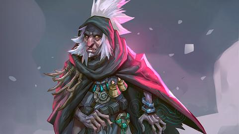 Character illustration-SHAMAN