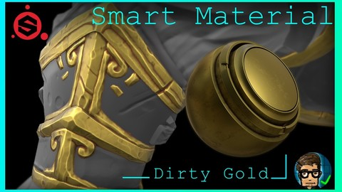Dirty Gold Smart Material