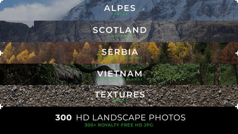 300 HD landscapes photos