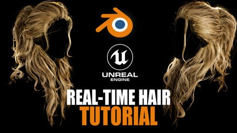 |TUTORIAL| Real-Time\Game-Ready Hair Creation