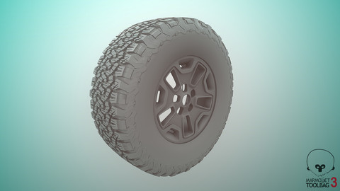 Off-road Wheel-MidPoly With Jeep style rim