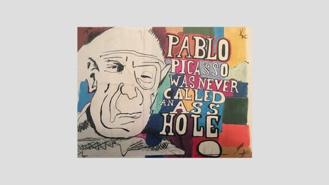 Pablo Picasso Was Never Called An Asshole