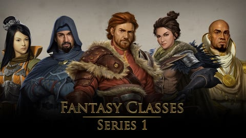 Stock Art | Fantasy Classes - Series 1