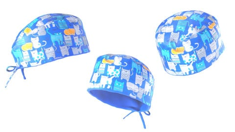 Surgical hat 01
