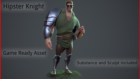 Hipster Knight