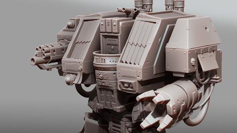 Dreadnought warhamer40k sculpt