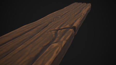 Stylized Wood Smart Material (100% PBR)!