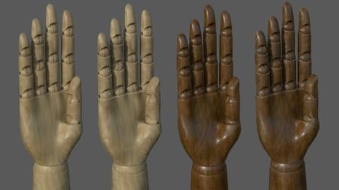 Artist Wooden Hand