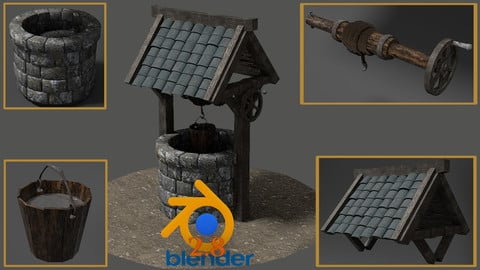 Blender 2.8 Creating your First 3D Game Model Full Course