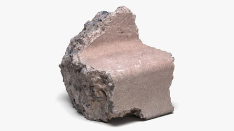 Concrete Chunk 01 - 16K Scan