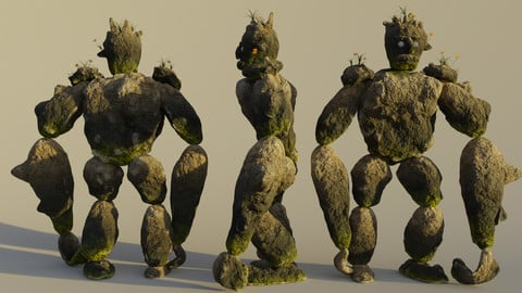 Earth Elemental or Stone Golem