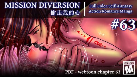 Mission Diversion webtoon #63: Mature version