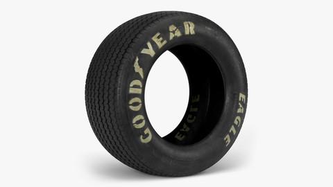 Goodyear Billboard Tire